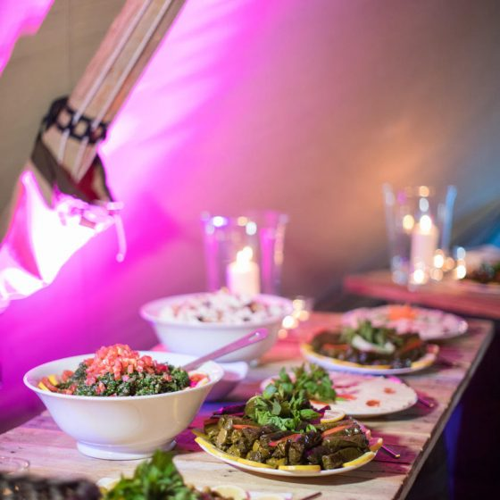 Ruba Restaurant - Catering with Ruba - Buffet Cold Mezze 2