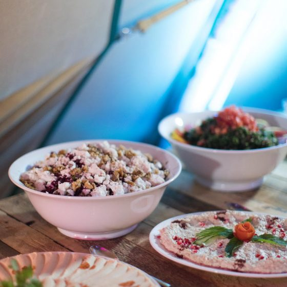 Ruba Restaurant - Catering with Ruba - Buffet Cold Mezze 5