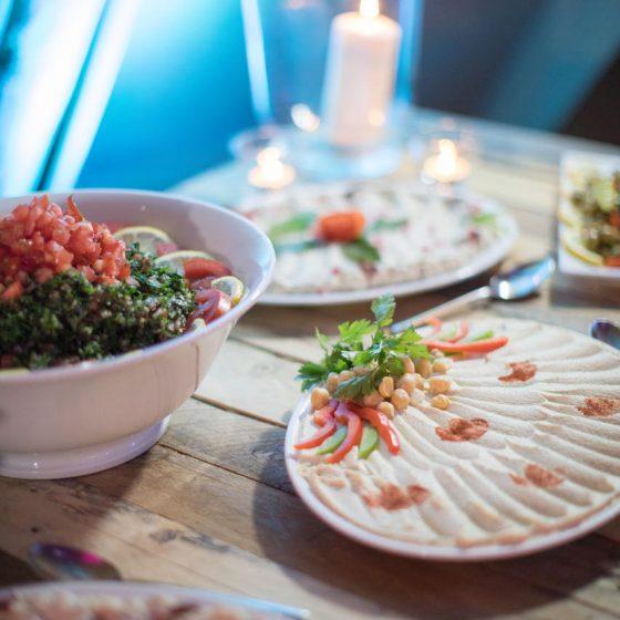 Ruba Restaurant - Buffet Cold Mezze 7