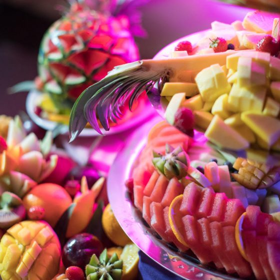 Ruba Restaurant - Fruit Display and Carving 3