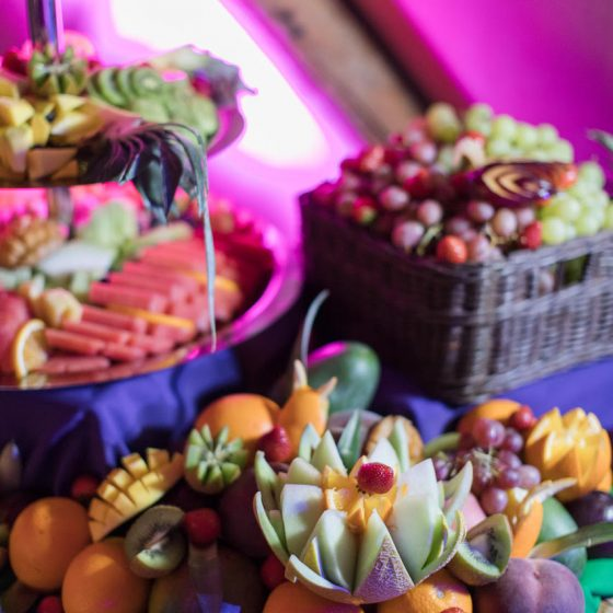 Ruba Restaurant - Our Fruit Display and Carving 4