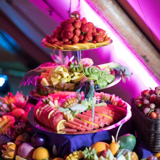 Ruba Restaurant - Our Fruit Display and Carving 7